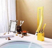 Vergoldeter Wasserhahn für Badarmatur