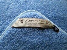 Verkauf. Licht Blau Gewicht Baby atlos Junior Single Wolldecke 100% Wolle, Größe: 120x 150cm