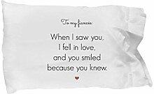 Verlobter Kissenbezug – in Love – lustiger
