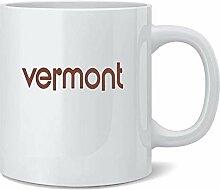 Vermont Retro Vintage State Travel Ceramic Coffee