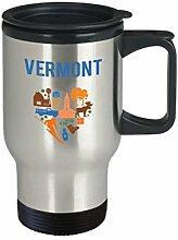 Vermont Thermobecher mit lustigem Thermobecher