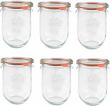 Veroline Weck-Glas/Einmachglas (original Weck) mit
