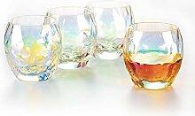 Verolux Schillernde Whiskey-Gläser – Scotch,