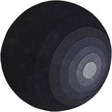 VERPAN Luna Rug Teppich Ø 120 cm in Grau