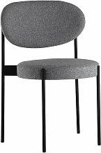 Verpan - Stuhl 430, schwarz / hellgrau (Hallingdal 65 /130)