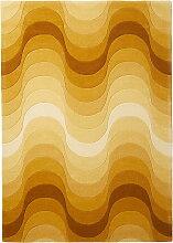 Verpan - Wave Teppich, 240 x 170 cm, gelb