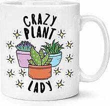 Verrückte Pflanze Damen Sterne 283g Becher Tasse