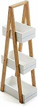 Versa 15810460 Badregal mit 3 Fächern, Holz,