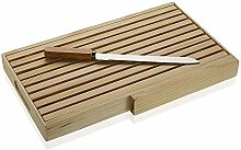 Versa 19910144 Schneidebrett, Bambus, Holz, 4 x 24
