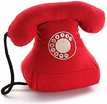 Versa 20270108 Türstopper in Telefonform, Stoff,