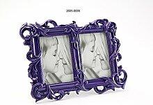 Versa Doppel-Bilderrahmen Violett 10 x 15