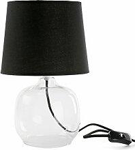 Versa - Schwarz Glaslampe