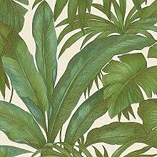 Versace grün Palm Leaf Tapete Extra Breit Wand