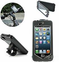 Versand kostenlos wasserdicht Fall Motorrad Fahrrad Inhaber Mount für Apple iPhone 6// Waterproof Case-Mount Fahrrad Motorrad Bike Holder For iPhone 6