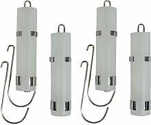 versandfuxx24 - 4 Verdunster Luftbefeuchter für Heizung Heizkörper