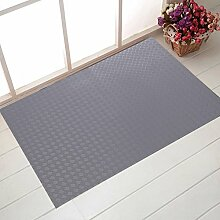 Verschleißfeste Pad/Fußabtreter/Tür Eingang Fußmatten In Der Halle/Bodenmatte/Non-rutschen-matten/Home Fuß Badematte-A 60x90cm(24x35inch)