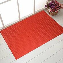 Verschleißfeste Pad/Fußabtreter/Tür Eingang Fußmatten In Der Halle/Bodenmatte/Non-rutschen-matten/Home Fuß Badematte-B 120x150cm(47x59inch)