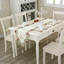 Verschönert & bestickt,craft table flag/gravieren sie,gestickt,bett-runner-A 30x40cm(12x16inch)