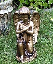 Vershy Grabengel Grabschmuck auf Stein mit Flügel