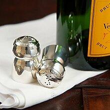 Versilbert, champagner, Kork, Culinary Concepts