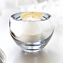 Verspiegeltes Dekoglas als Teelichthalter oder Vase