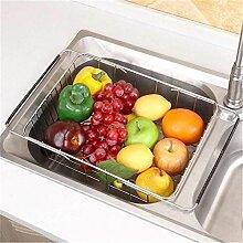 Verstellbar über Waschbecken Geschirrtrockner
