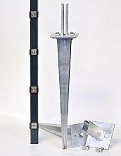 Verstellbare Einschlaghülse 50 cm
