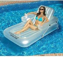 Verstellbare Liege für Schwimmbad