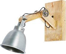 Verstellbare Wandlampe im Industriestil, aus