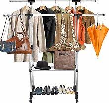 Verstellbarer Kleiderständer für Kleiderständer
