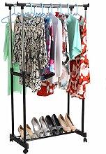 Verstellbarer Kleiderständer Garderobe