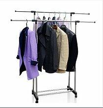 Verstellbarer Kleiderständer Garderobenständer
