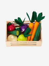 Vertbaudet Gemüsekiste aus Holz für Kinder