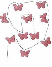 Vertbaudet Lichterkette Schmetterlinge,