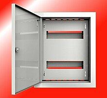 Verteiler Stromverteiler 24 Sicherungen Kleinverteiler Sicherungskasten stahlverzinkt Unterputzverteiler Unterputz