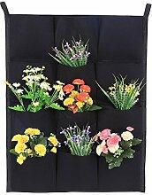Vertikaler Blumenkasten für den Garten