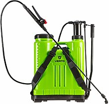 VERTO Profi Rückendrucksprühgerät 15 Liter