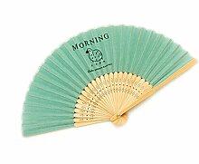 Vertraglich Land-Art-faltender Ventilator Sommer-Ventilator Zufällige Farbe