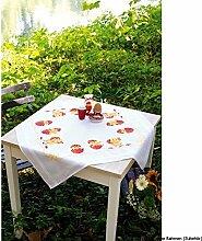 Vervaco Frohe Ostern Stickpackung/Tischdecke im