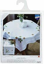 Vervaco Glücksklee Stickpackung/Tischdecke im