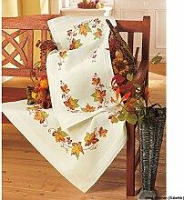 Vervaco Herbst Stickpackung/Tischdecke im