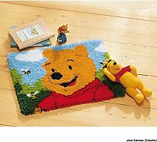 Vervaco PN-0014722 Knüpfteppich Winnie The Pooh
