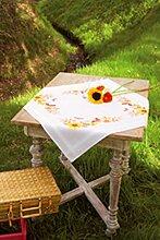 Vervaco PN-0021558 VER Decke Sonnenblumen & Schmetterlinge