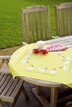 Vervaco PN-0143926 Decke Hühner, weiß