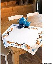 Vervaco Tischdecke Spielende Katzen