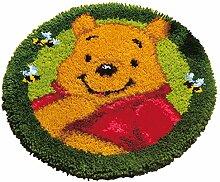 Vervaco Winnie The Pooh Knüpfset Teppich,