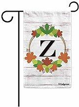 Verzauberte Gartenflaggen,Willkommen Herbst Kranz