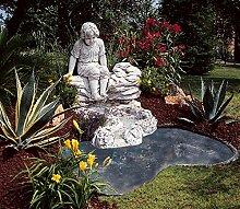 Verzierung für Gartenteich Laguna Balearen 120in verschiedenen Farben Antik (nur Handarbeit in Beton)