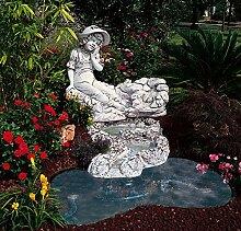 Verzierung für Gartenteich Laguna Ipanema 120in verschiedenen Farben Antik (nur Handarbeit in Beton)