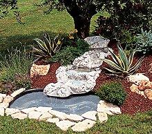 Verzierung für Gartenteich Laguna Martinique 120in verschiedenen Farben Antik (nur Handarbeit in Beton)